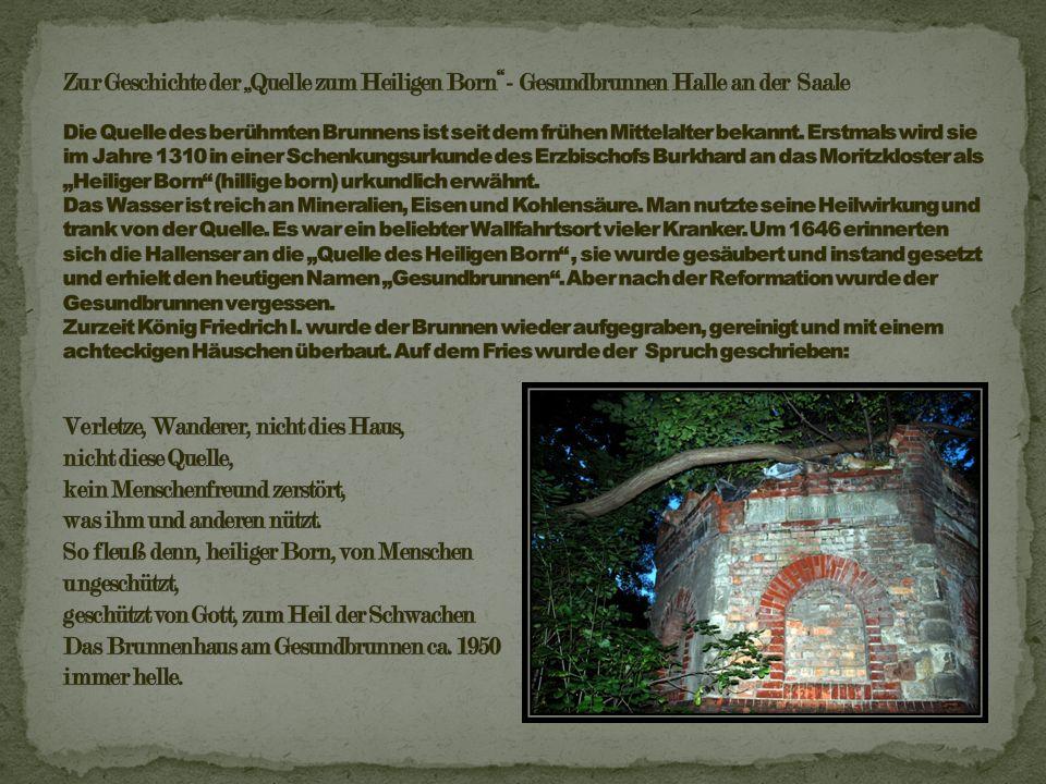 Die Eigentümer wechselten in den folgenden Jahren oftmals: 1795 erwarb der Bankier Gründler den Brunnen, dann besaß ihn der Seifensieder Schmidt; 1807 kaufte ihn Johann Christian Reil die Quelle.