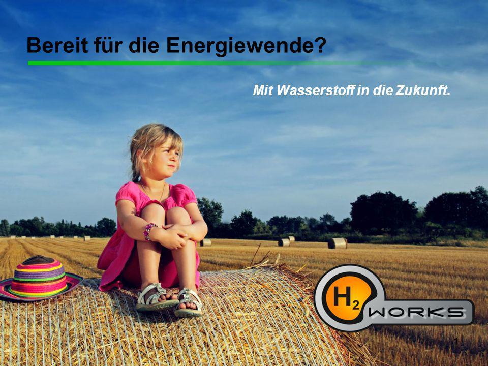 1 Bereit für die Energiewende? Mit Wasserstoff in die Zukunft.