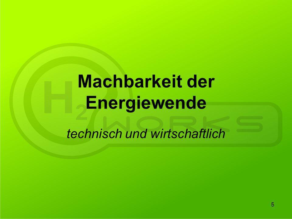Machbarkeit der Energiewende technisch und wirtschaftlich 5