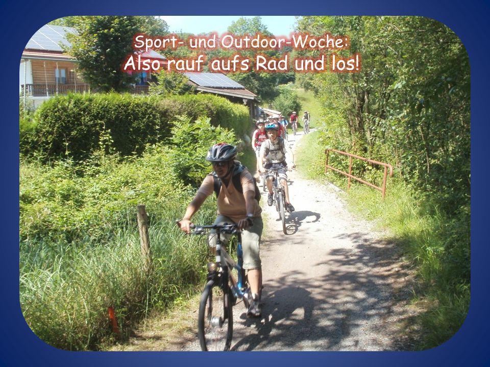 Impressionen vom Radfahren