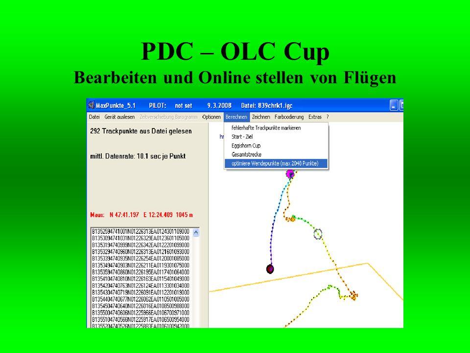 1.Gehe nun ins Internet auf www.xc.dhv.dewww.xc.dhv.de 2.Loge dich unter deinem am Anfang erstellten Benutzernamen ein.