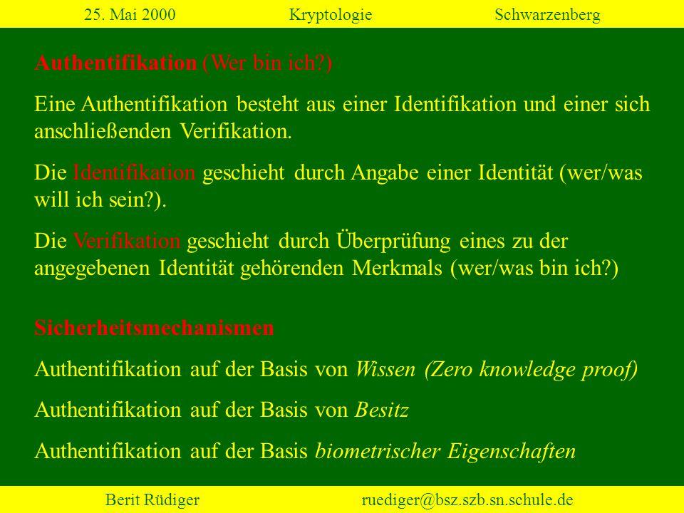Berit Rüdiger ruediger@bsz.szb.sn.schule.de 2.3 Transpositionen (2) 25.