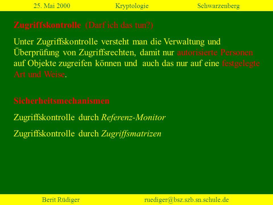 Berit Rüdiger ruediger@bsz.szb.sn.schule.de 2.3 Transpositionen (3) 25.