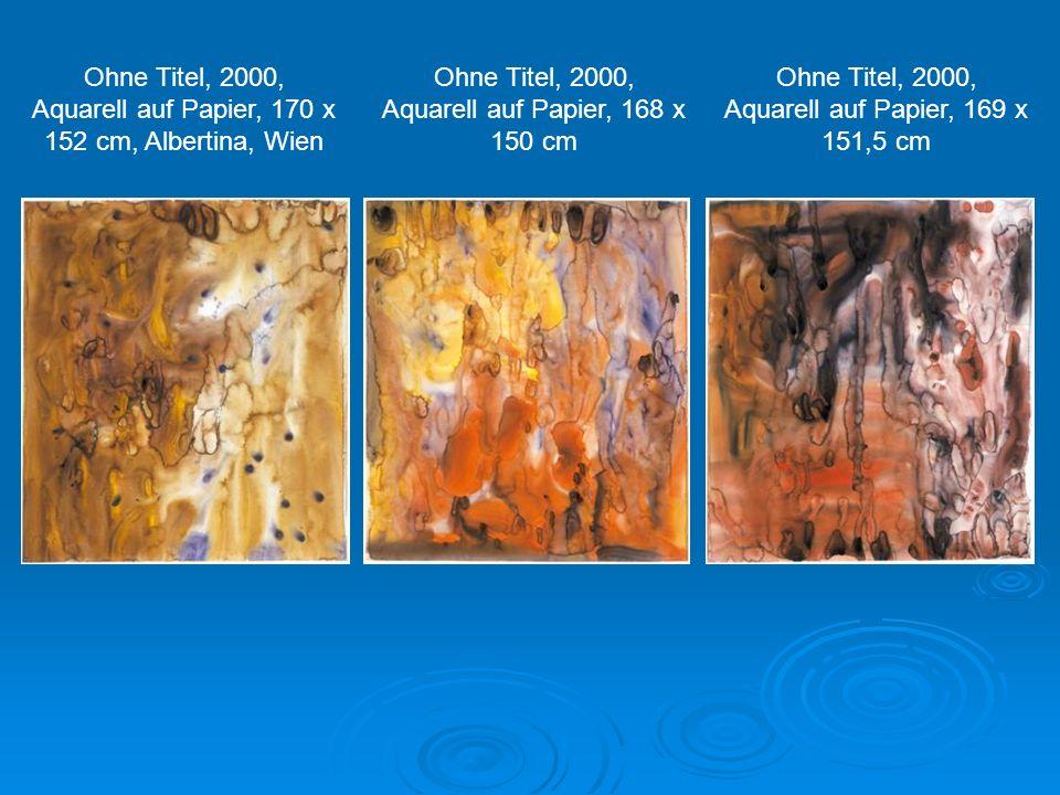 Ohne Titel, 1991, Öl auf Leinwand, 180 x 260 cm Ohne Titel, 1991, Öl auf Leinwand, 260 x 180 cm