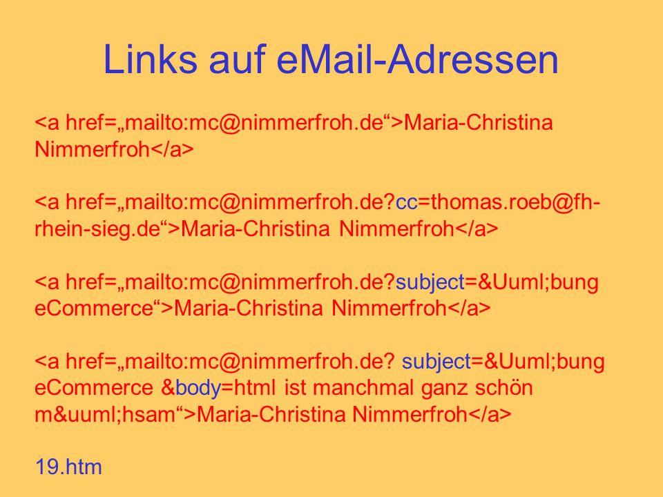 Links auf eMail-Adressen Maria-Christina Nimmerfroh 19.htm