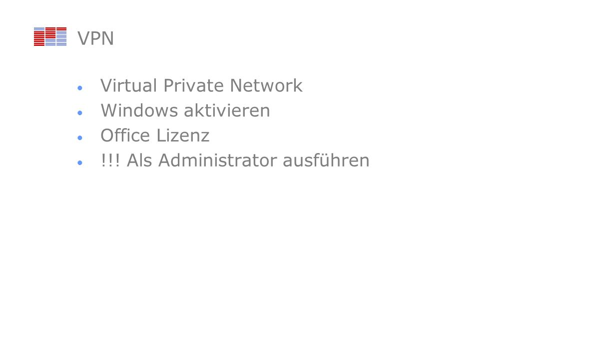 VPN Virtual Private Network Windows aktivieren Office Lizenz !!! Als Administrator ausführen
