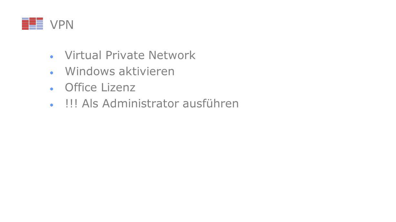 VPN Virtual Private Network Windows aktivieren Office Lizenz !!! Als Administrator ausführen