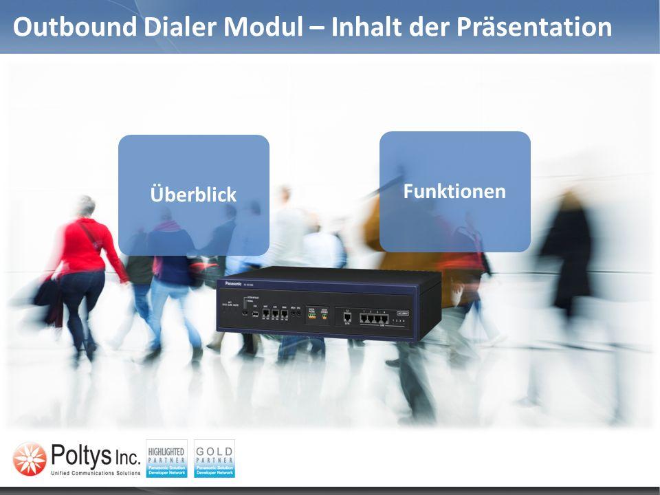 Outbound Dialer Module – CSV Dateiformat Optionale Headerzeile in die CSV Datei.
