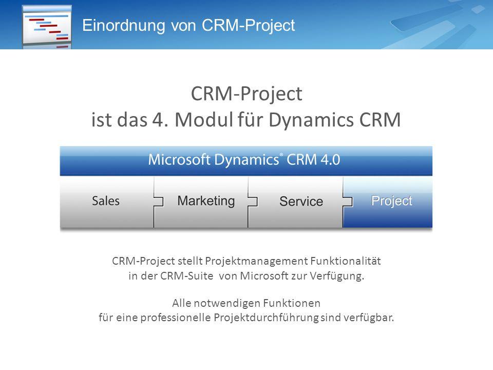 Warum Projektmanagement in Microsoft CRM.