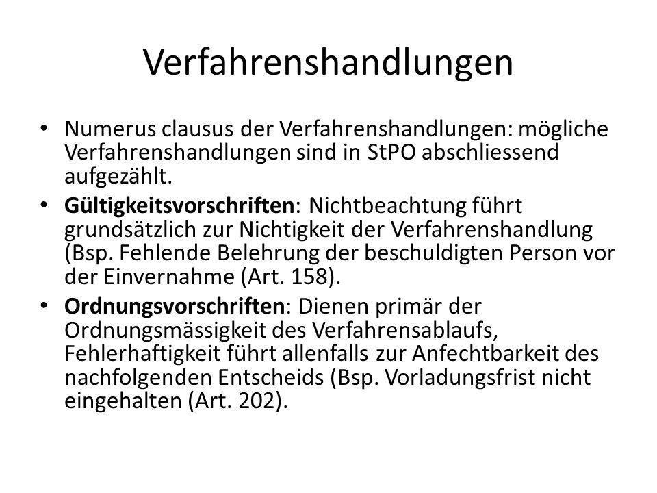 Verfahrenssprache Grundsatz: Das Strafverfahrens wird i.d.R mündlich durchgeführt (Art.