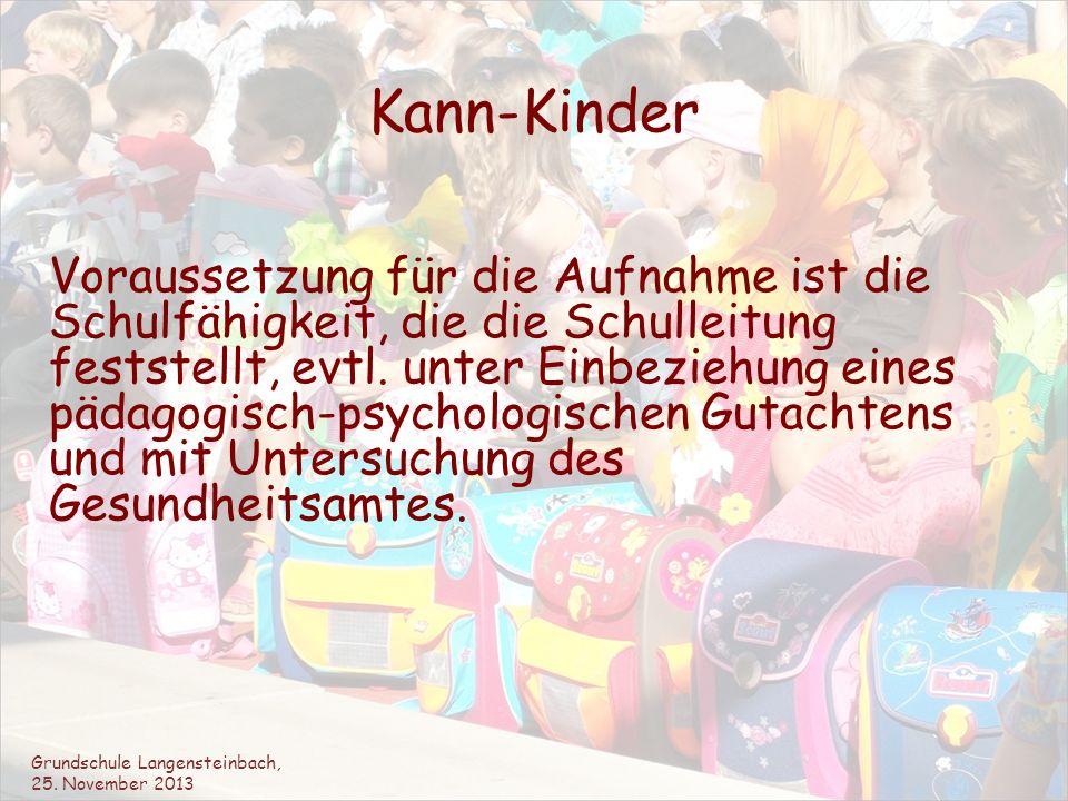 Jahresplanung der Vorbereitung auf die Einschulung 2014 Besuche der Kooperationslehrerin (Frau Christoph) in den einzelnen Kindergärten (Oktober bis Dezember 2013).