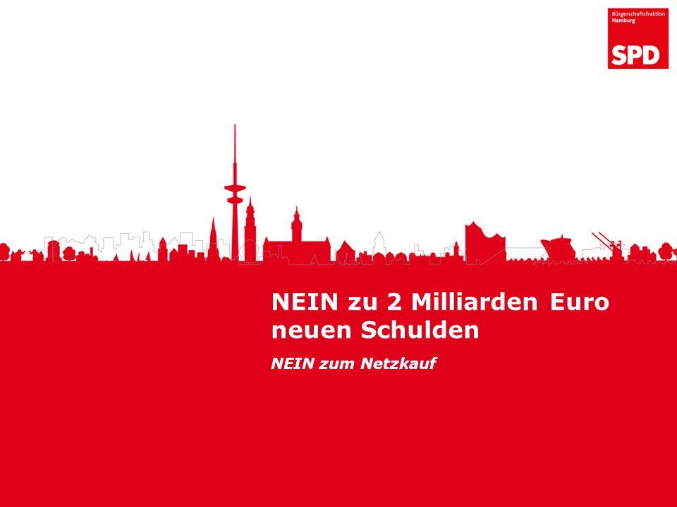 NEIN zu 2 Milliarden Euro neuen Schulden NEIN zum Netzkauf