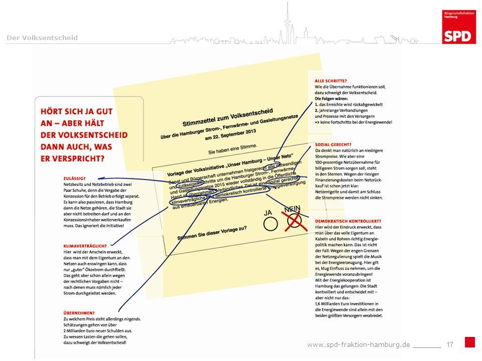 Der Volksentscheid www.spd-fraktion-hamburg.de _______17