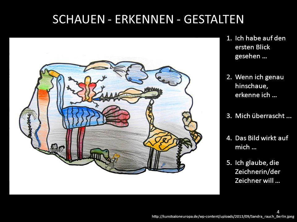 http://kunstsaloneuropa.de/wp-content/uploads/2013/09/Sandra_rauch_Berlin.jpeg SCHAUEN - ERKENNEN - GESTALTEN 1. Ich habe auf den ersten Blick gesehen