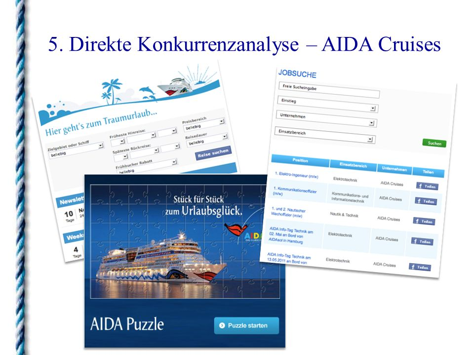 5. Direkte Konkurrenzanalyse – Windstar Cruises