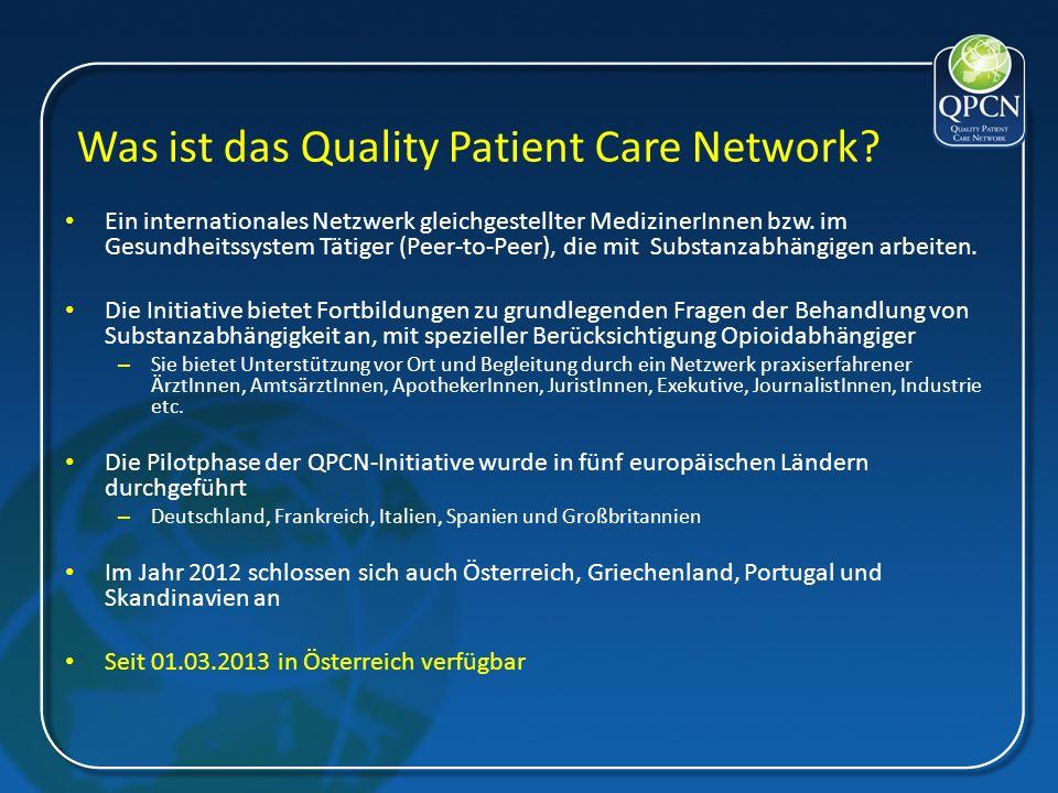 Ziel der QPCN-Initiative ist es...