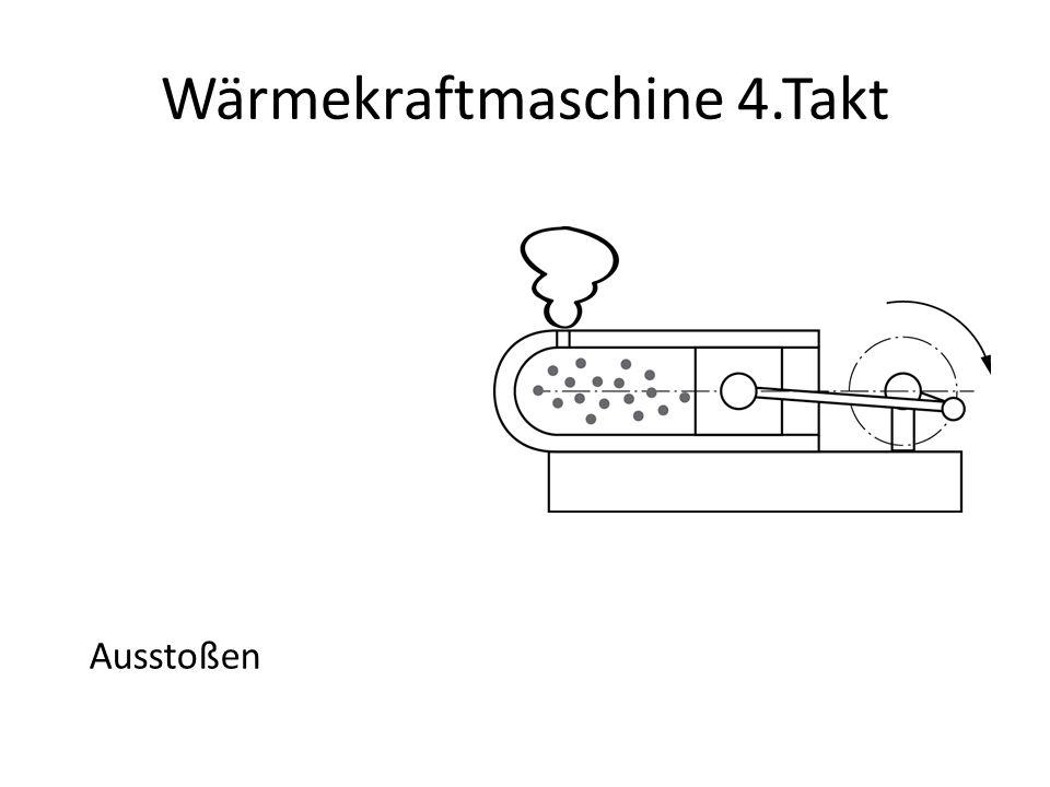 Wärmekraftmaschine 4.Takt Ausstoßen