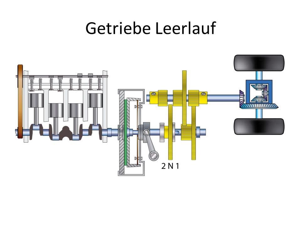 Getriebe Leerlauf