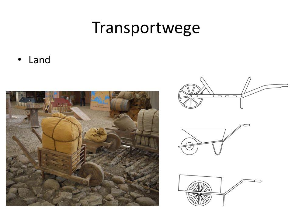 Transportwege Land