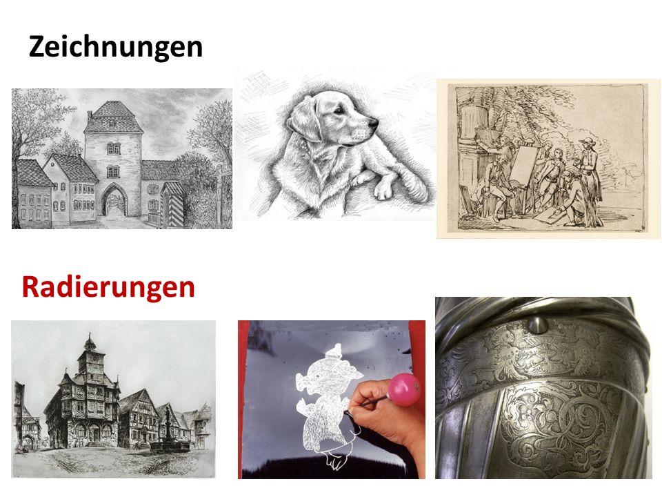 Radierungen Zeichnungen