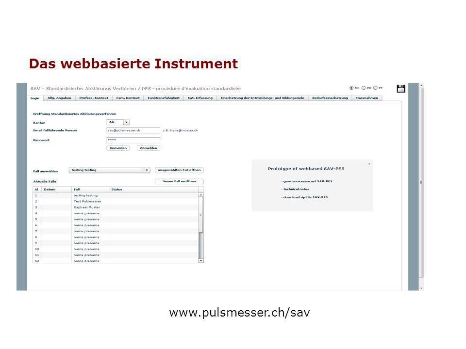 Berichtsfunktionen Ausbau und Konfiguration bezüglich Benutzerverwaltung Sicherheit: Authentifizierung und Autorisierung Quantifizierung der Daten.