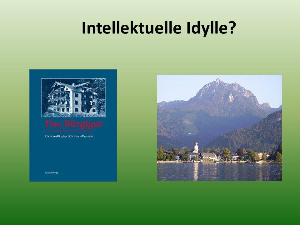 Intellektuelle Idylle
