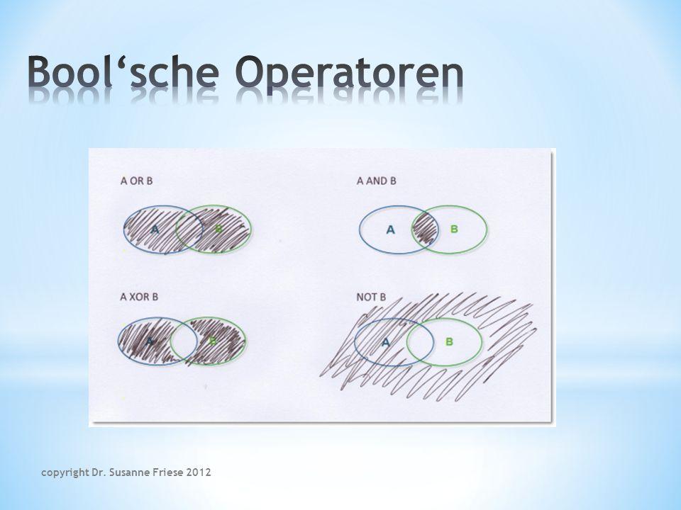 überlappt / wird überlappt von schließt ein / wird umschlossen A kommt vor B / B folgt A kommt zusammen vor (co-occur) overlaps / is overlapped by within / encloses Proceeds / follows within / encloses copyright Dr.