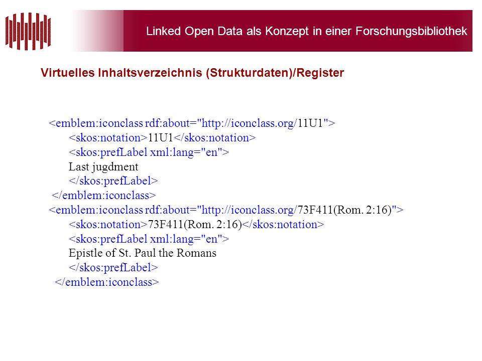 Linked Open Data als Konzept in einer Forschungsbibliothek Virtuelles Inhaltsverzeichnis (Strukturdaten)/Register 11U1 Last jugdment 73F411(Rom.