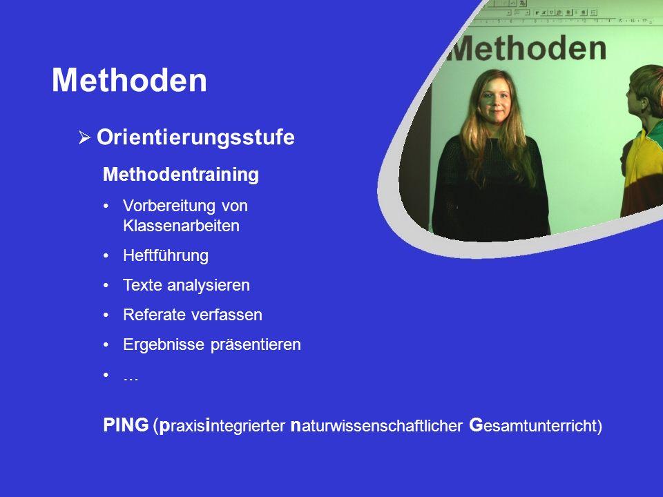 Methoden Sekundarstufe I BASF Mitmachlabor in der 8.