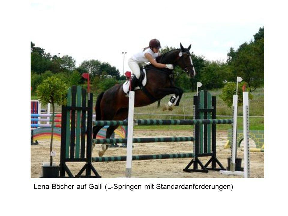 Lena Böcher auf Galli (L-Springen mit Standardanforderungen)