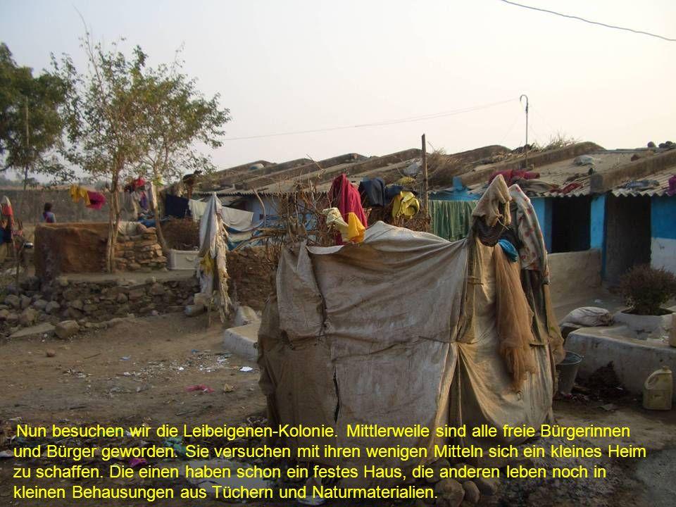 Die Behausungen bieten einerseits Schutz und Geborgenheit...