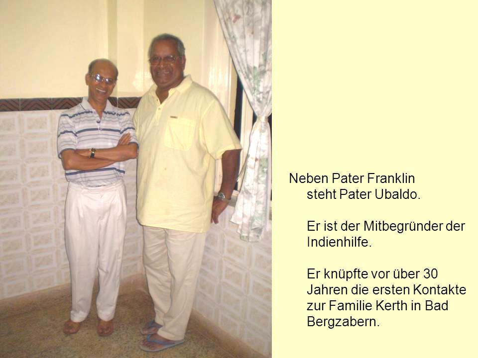 Zu Gast bei den Familien von Pater Franklin.