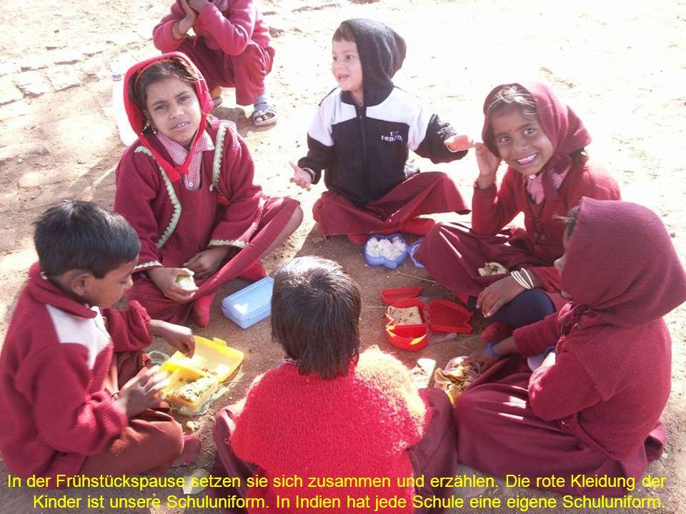 Diese Kinder leben und lernen in unserem kleinen Hostel (Heim).