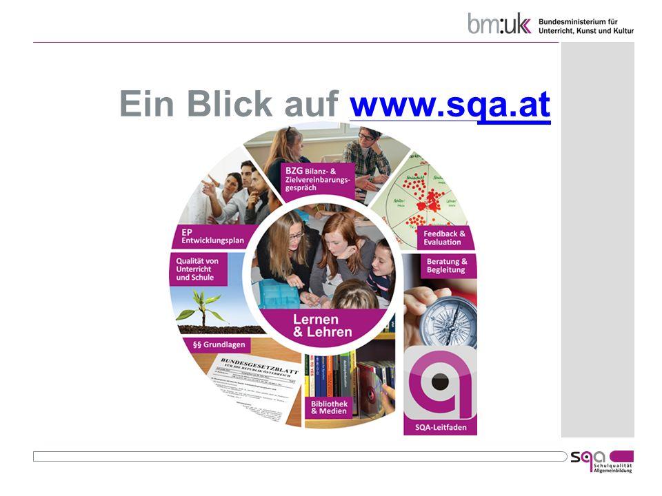 Ein Blick auf www.sqa.atwww.sqa.at