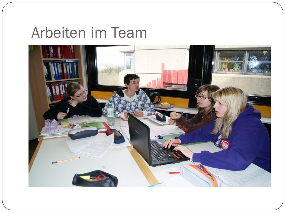 Arbeiten im Team