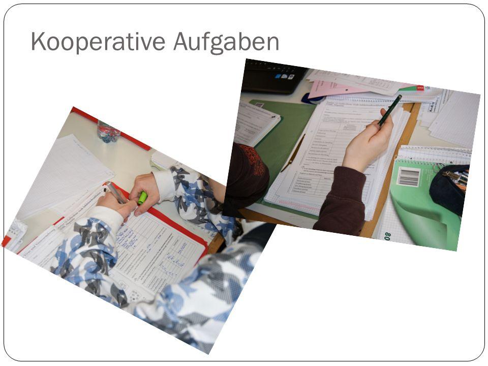 Kooperative Aufgaben