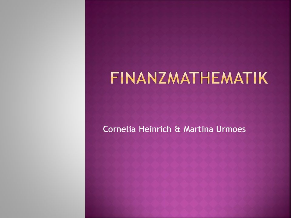 Cornelia Heinrich & Martina Urmoes