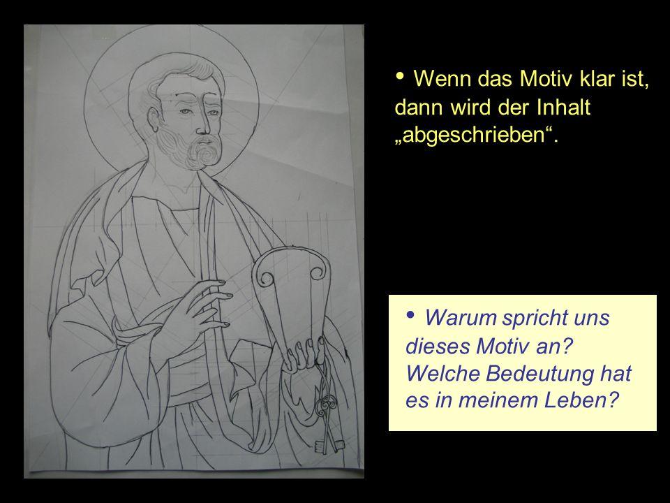 Zum Abschluss erfolgt die Ikonenweihe Heiliger erhabener Gott sieh auf diese Bilder, die wir in aufrichtiger Gesinnung gemalt haben.