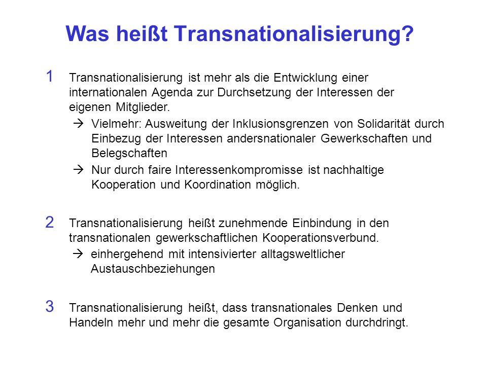 Was heißt Transnationalisierung.