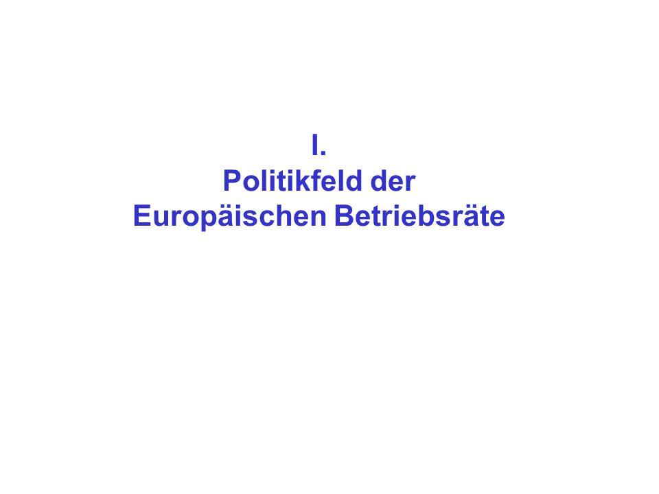 I. Politikfeld der Europäischen Betriebsräte