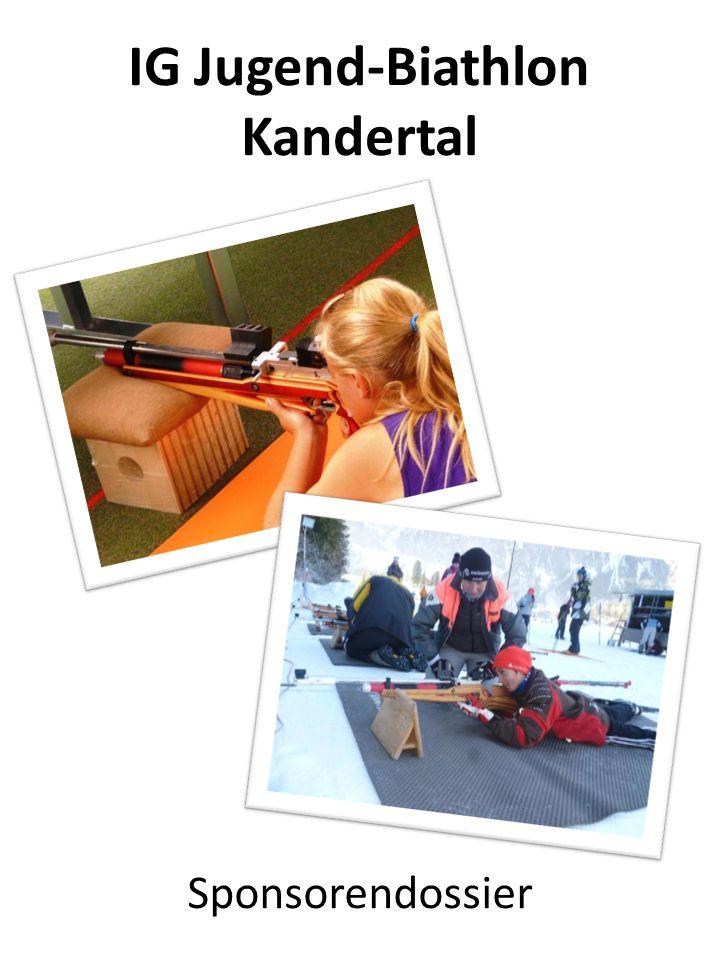 IG Jugend-Biathlon Kandertal Sponsorendossier