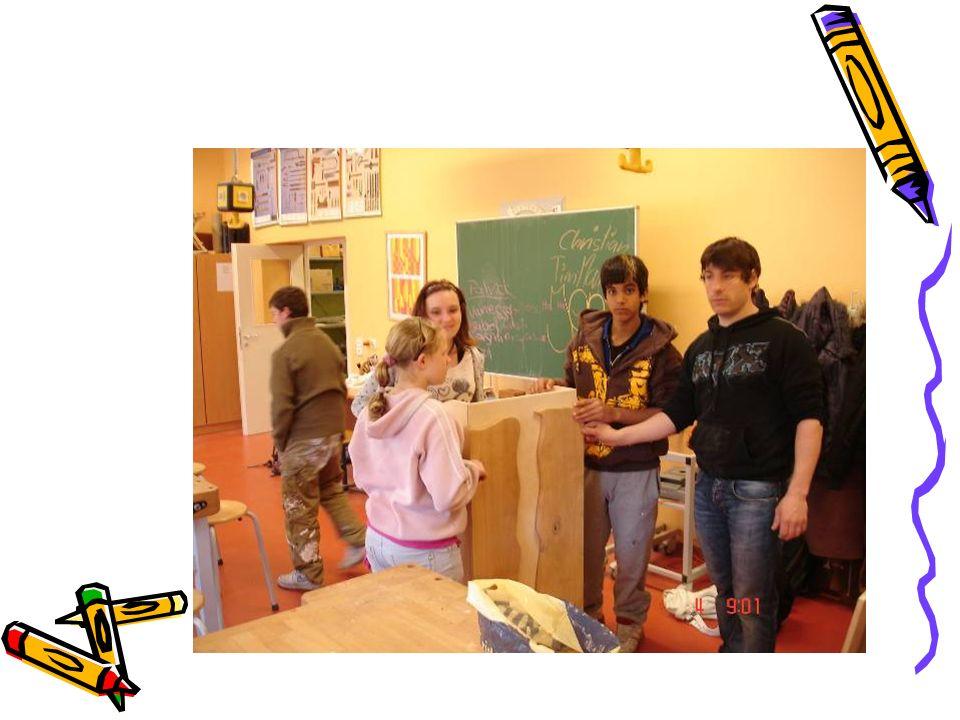 Schwerpunkte unserer Schulentwicklung Schulleben Holzwerkstatt