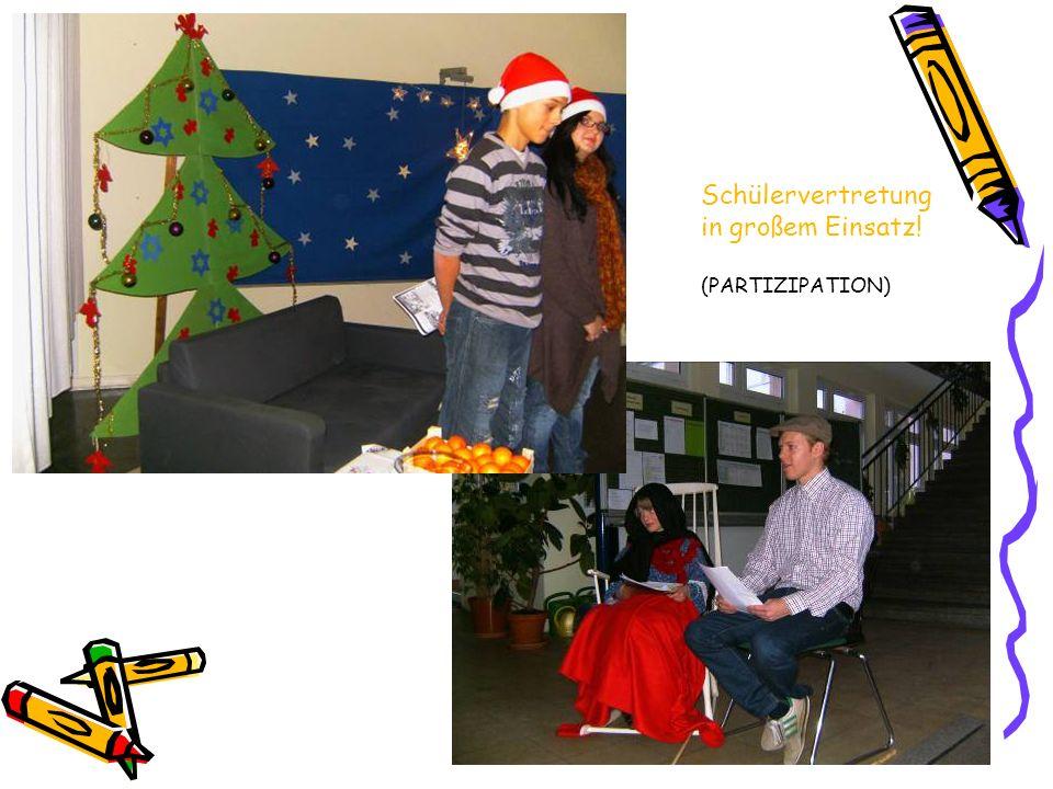 Schulleben Weihnachtszeit