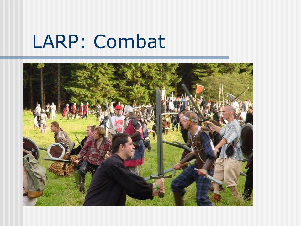 LARP: Combat