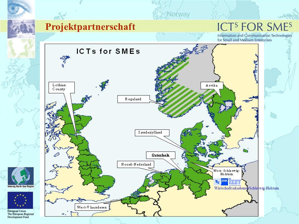 Projektpartnerschaft Wirtschaftsakademie Schleswig-Holstein