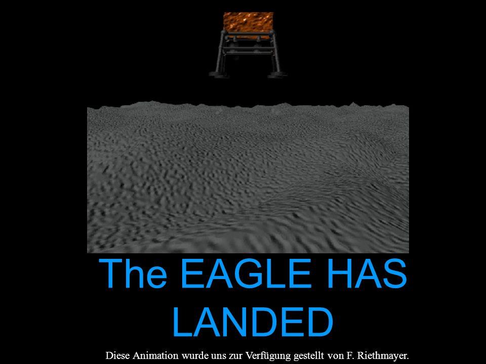 Der Flugverlauf Start von der Erde Landung auf dem Mond Nach 21 Stun- den Aufbruch zur Erde