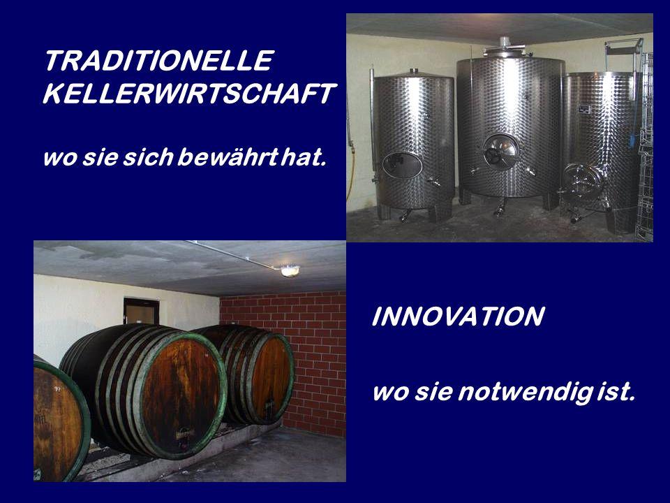 Die Weinbereitung erfolgt in Eisenstadt.