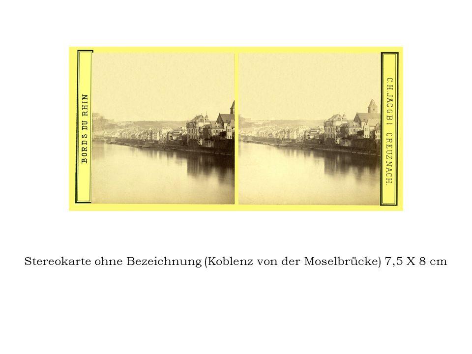 Stereokarte Strassburg, October 1870 No. 20. Ansicht der Steinstreasse No. 3.
