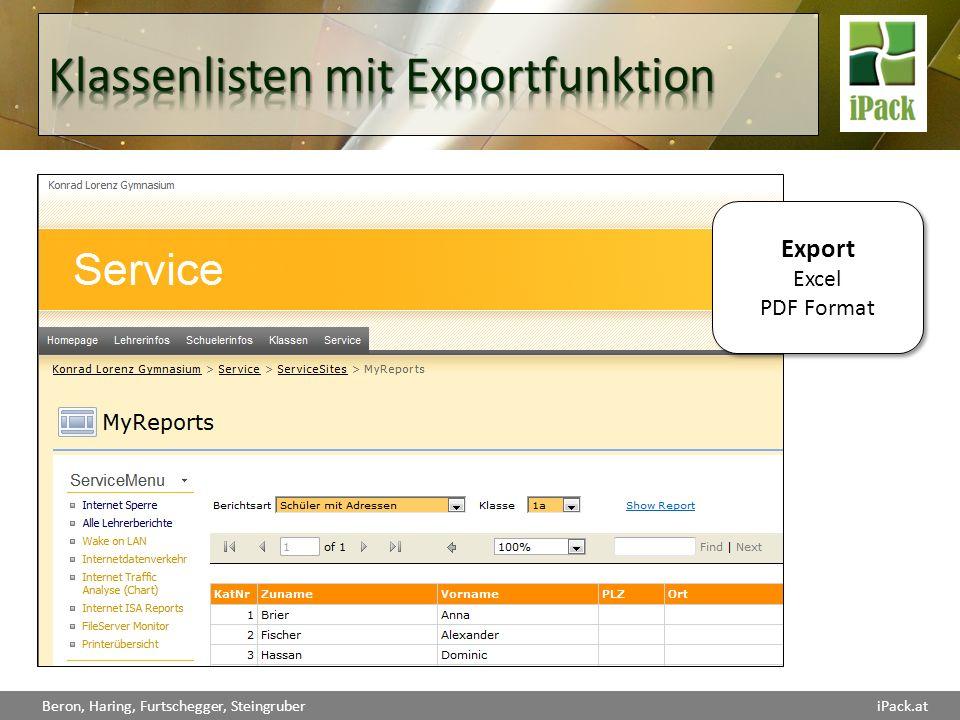 Export Excel PDF Format Export Excel PDF Format