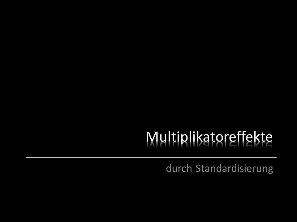 durch Standardisierung